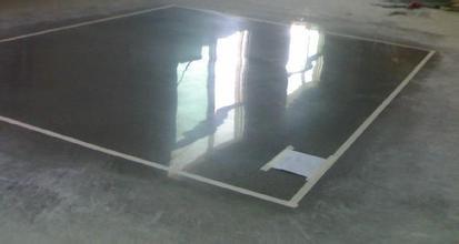 水泥地面固化样板